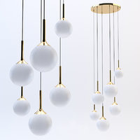 3D lightstar pendant light globo