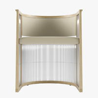 Japanese Shoji Screens Style Kaishi Chair
