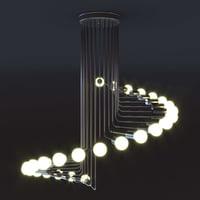Moderno lampadario a sospensione