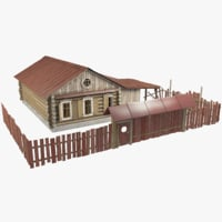 cottage fence model