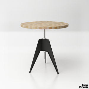 3D model tom dixon screw table