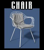 3D chair interiors