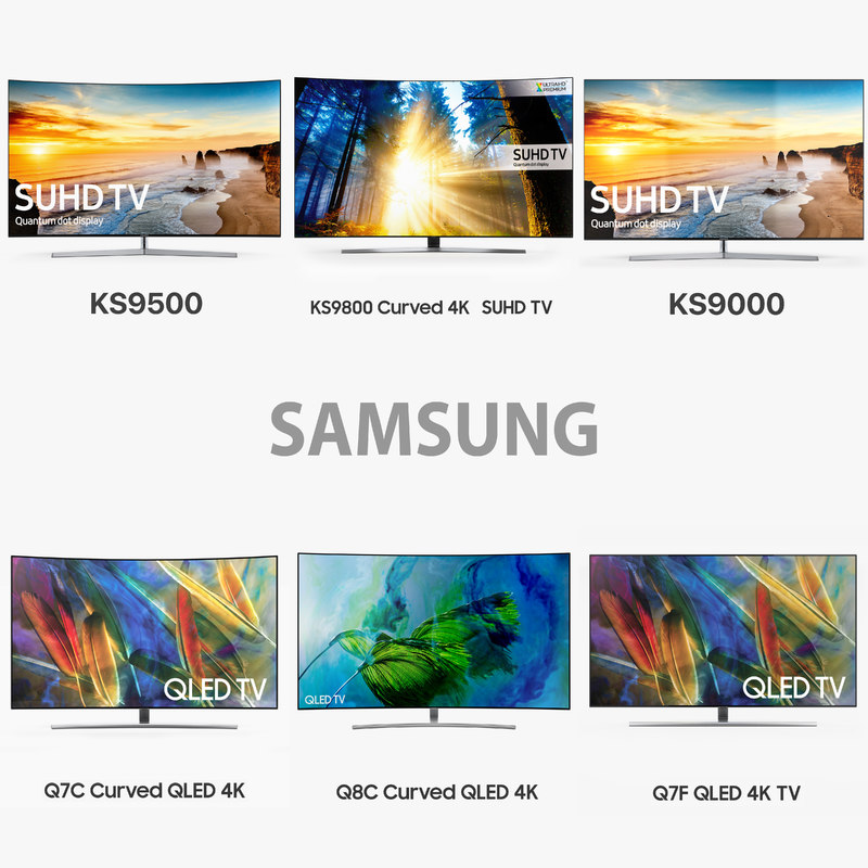 3D samsung new tv model
