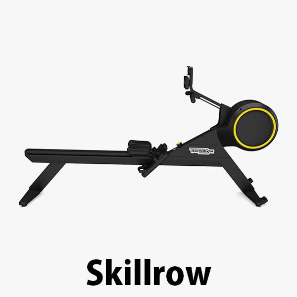 3D model - skillrow technogym