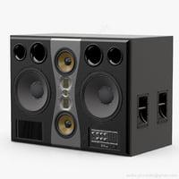 monitor adam s7a mk2 3D model