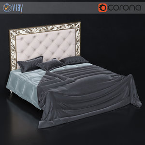 silvano grifoni bed 3D model
