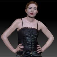 female girl 3D model