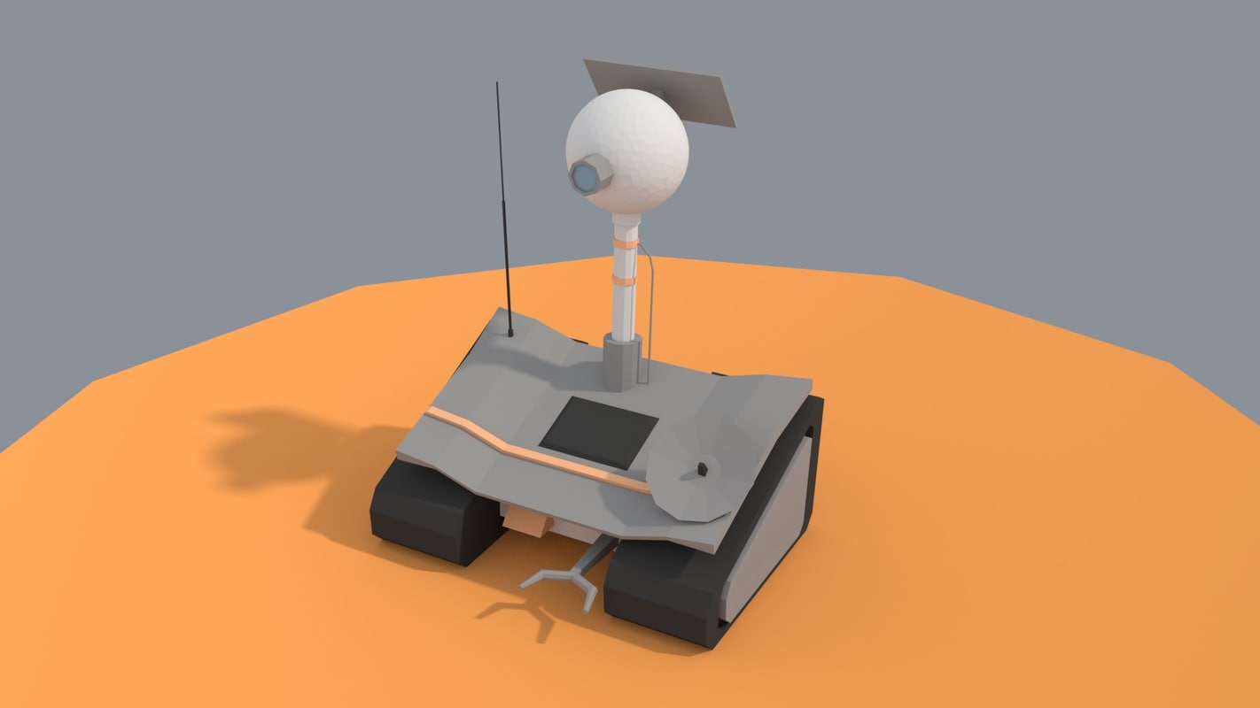 planet rover 3D