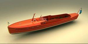 pettersson boat 3D model
