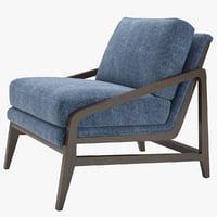 armchair peyton chair 3D