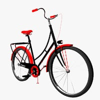 3D bicycle cycle