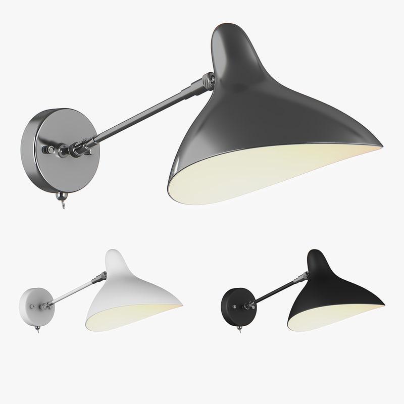 sconce manti lightstar 3D model