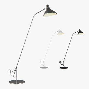 floor lamp manti lightstar 3D