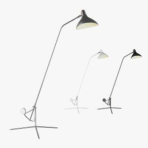 3D floor lamp manti lightstar model