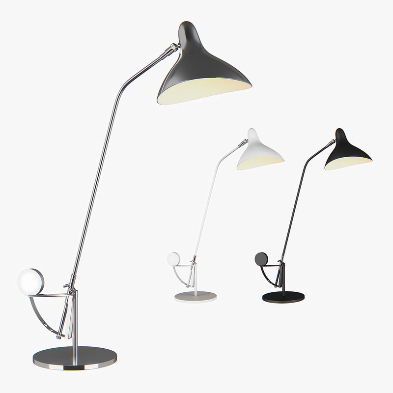 3D table lamp manti lightstar