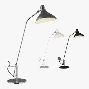 3D table lamp manti lightstar