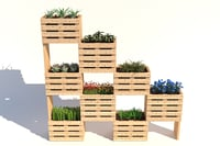 modular wall planter