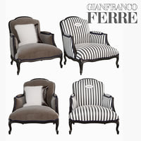 Welcome Armchair Gianfranco Ferre