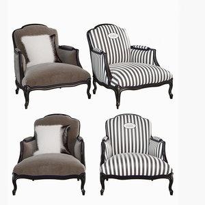 3D chair cnc model