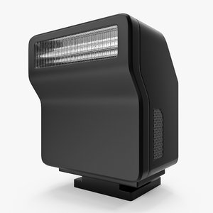 compact speedlight 3D model