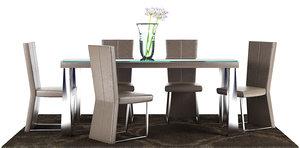 dinning table 11 3D model