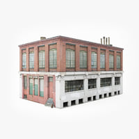 3D ready industrial building model