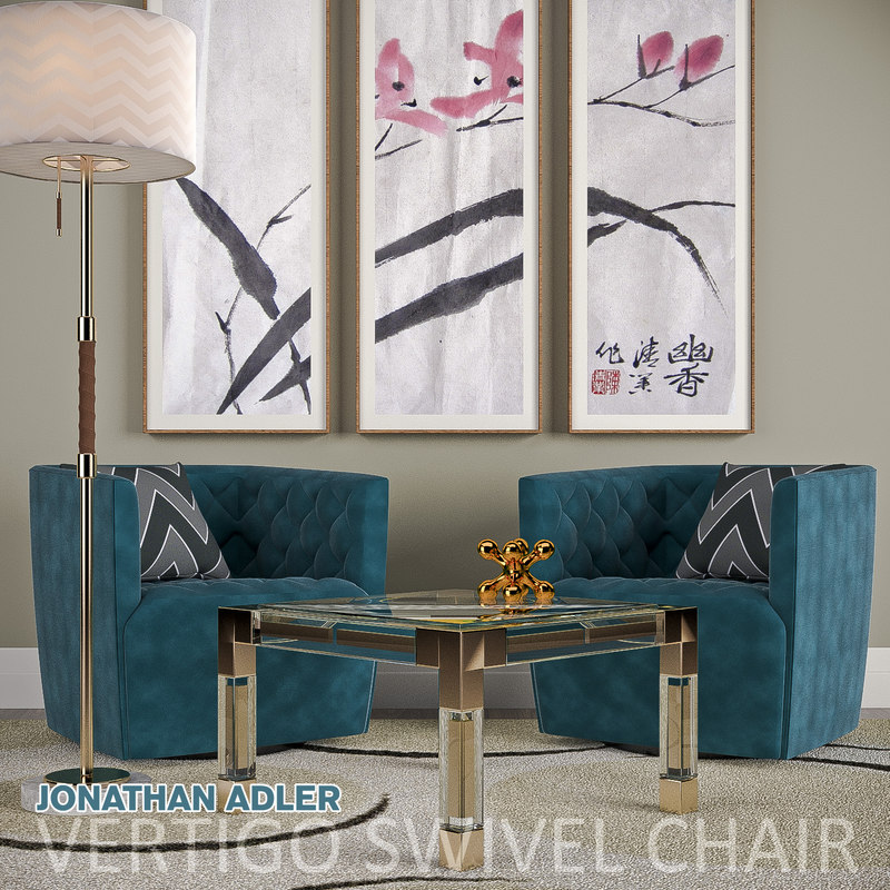 3D vertigo swivel chairs