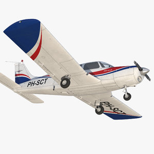 aircraft piper pa-28-161 warrior model