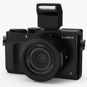 3D digital camera panasonic lx100