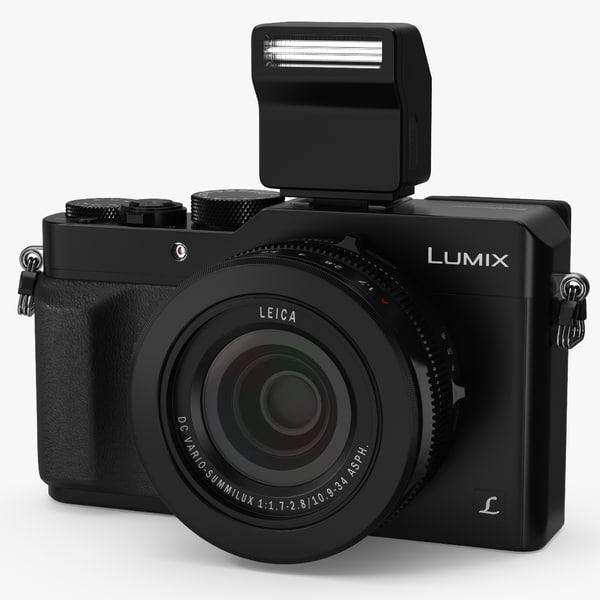 3D digital camera panasonic lx100