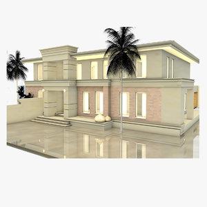 3D house inspiration model