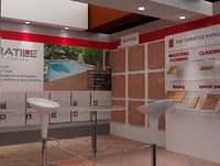 3D booth exhibition stand
