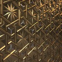 3D model islamic pattern