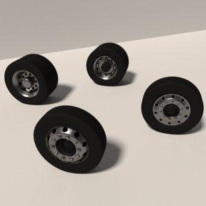 wheel rims 3D model