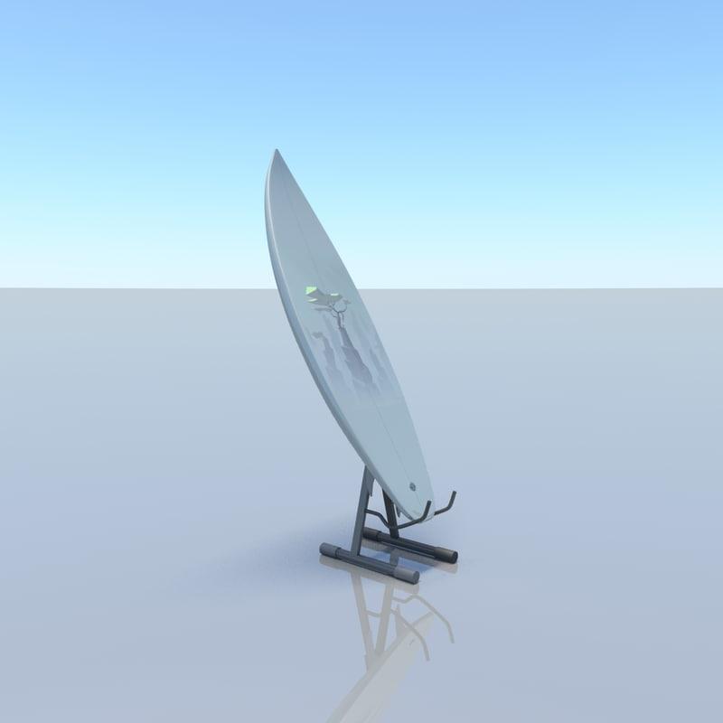 3D surfboard v1
