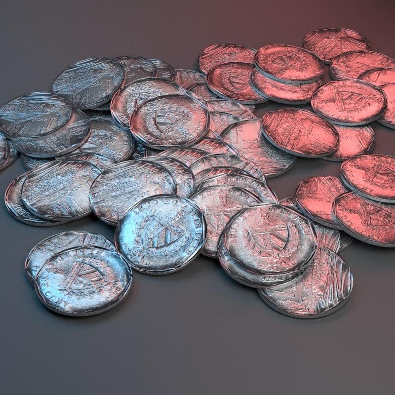 3D cuban peso