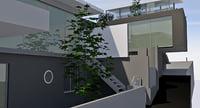 Modern triplex houses
