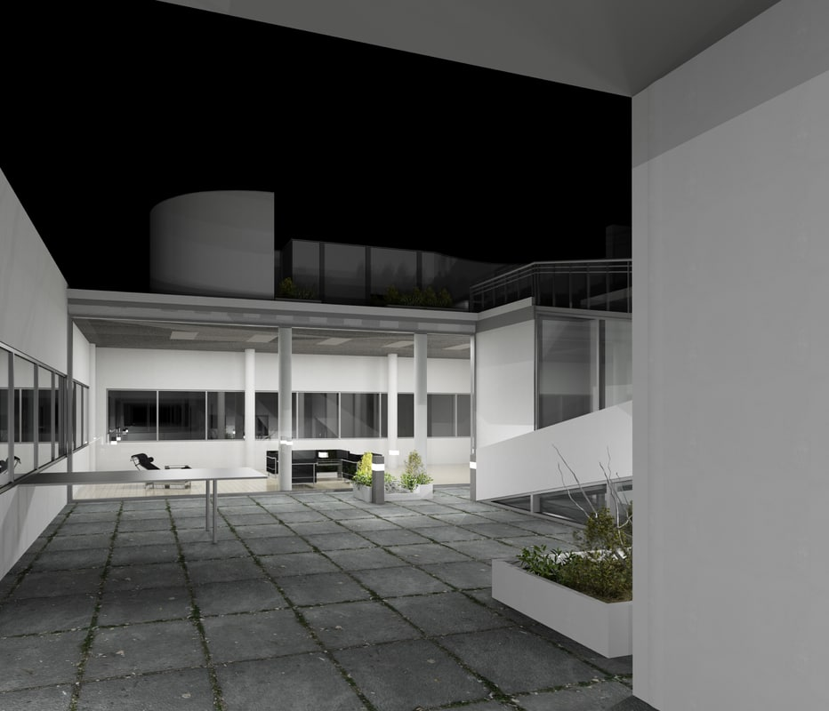 Revit villa savoye 3D - TurboSquid 1168456