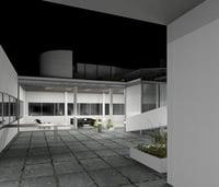 villa savoye-Le corbusier (Revit)