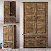 mercantile armoire model