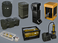 Sci-fi Asset Collection