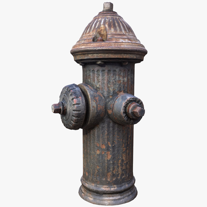 3D hydrant scanned astoria