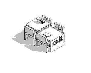 library table revit model