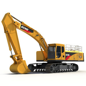 excavator x 3D
