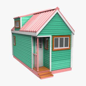 3D model tiny house