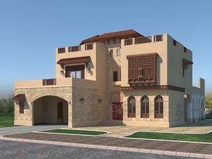 islamic house 3D model