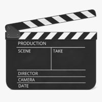 clapperboard clapper board model