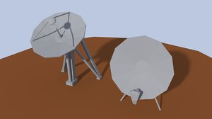 3D antenna objects