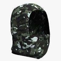 realistic balaclava mask 3D