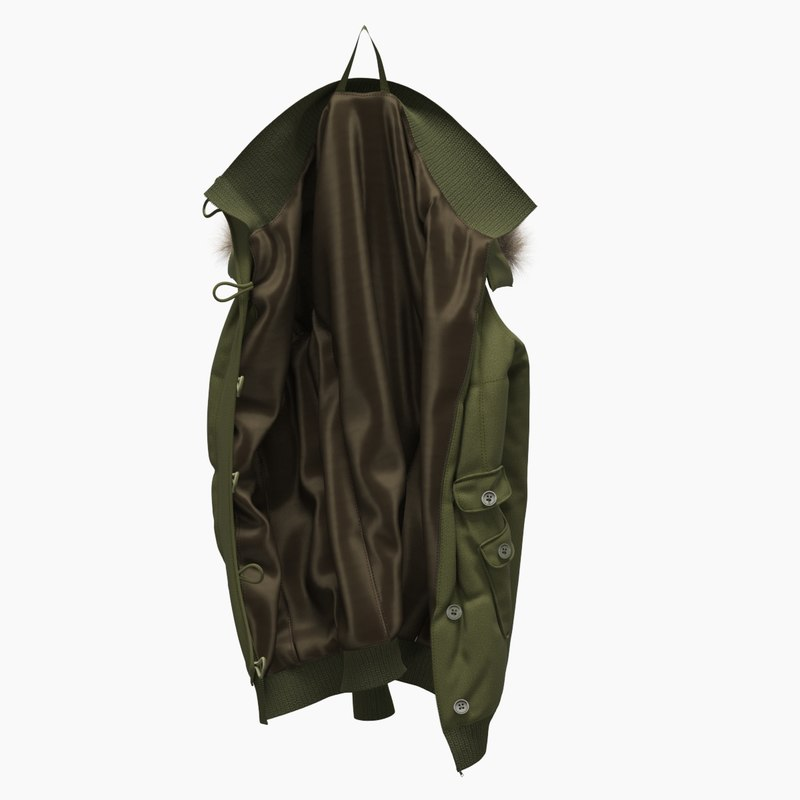 realistic jacket hook model